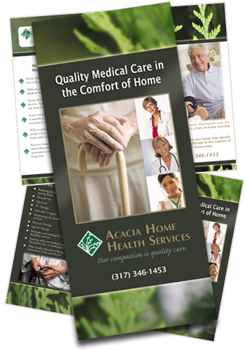 Acacia Home Health Care Brochure Sample