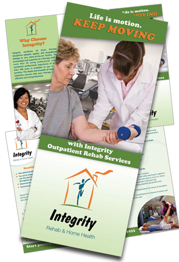 Physical Therapy Brochure Sample - Integrity