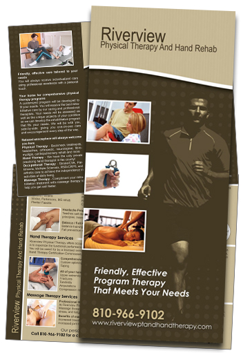 Physical Therapy Brochure Sample - Riverview