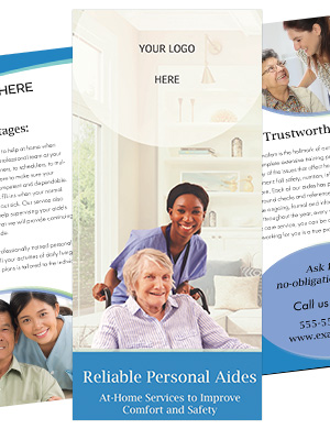 Home Care Brochure Template - Nimbus