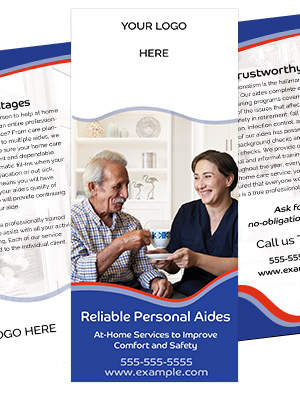 Home Care Brochure Template - Victory Banner