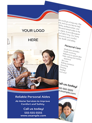 Home Care Rack Card Template - Victory Banner