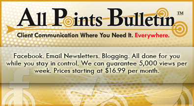 All Points Bulletin for Home Health Care and Physical Therapy Marketing. Email Newsletters. Blogging. Facebook.