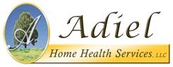 Adiel Home Health Care Logo Design