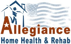 Allegiance Home Health Care Logo Design