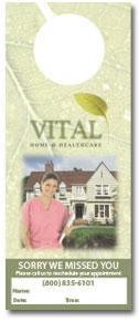 Marvelous ... Doorhanger Front Vital Home Health Care ...