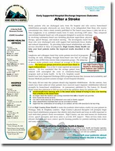 Home Health Care Newsletters - Click to Download Sample