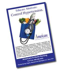 Home Health Specialty Program - Promotional card - click to download full-size sample.