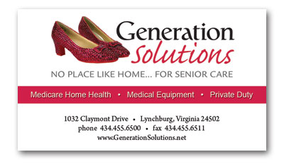 Home Health Loyalty Card - Front